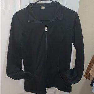 Fitted Fitness Jacket Black